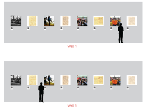 Herbert exhibition wall layout