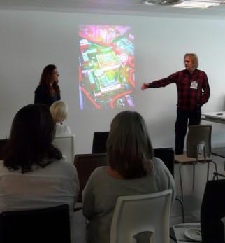 High fives: Dr Mark Walker and Joanna Fursman